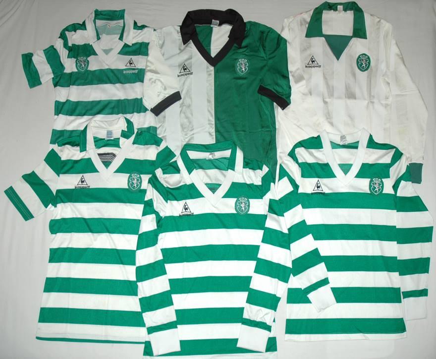 Le Coq Sportif - 6 camisolas do Sporting
