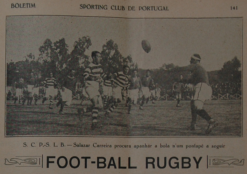 Boletim Sporting 20 Janeiro 1927 b
