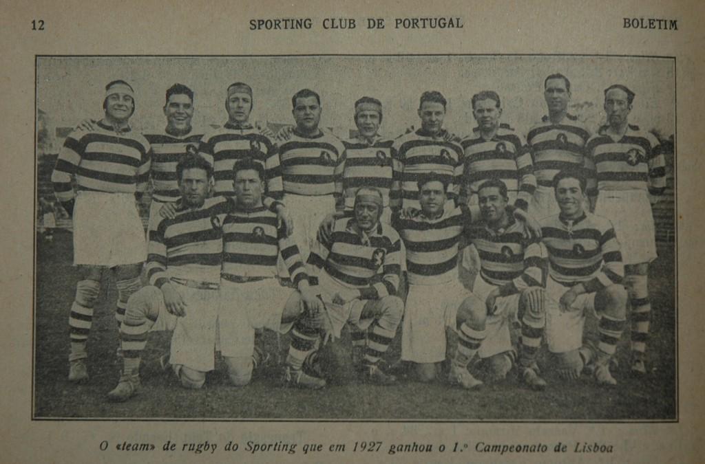 Boletim Sporting 20 Janeiro 1927 c