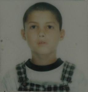 Cristiano Ronaldo as child