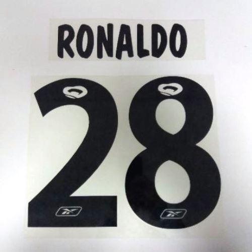 fake 2003/04 Cristiano Ronaldo  Sporting Clube de Portugal shirt